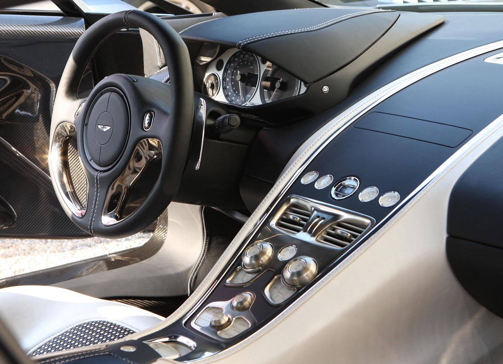 [Images: Drew Smith, Aston Martin And OmniAuto]