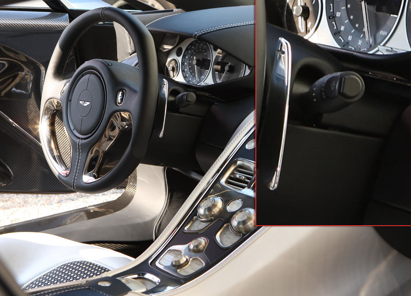 The First Pictures Of The Interior Of The One Point Seven Five Million  Dollar (US) Aston Martin One 77 Were Published Today After The Caru0027s  Official Reveal ...